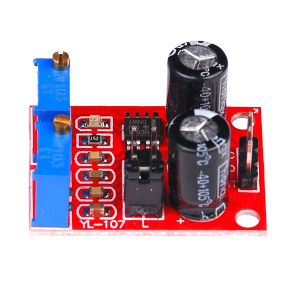 Ne555 Pulse Frequency Duty Cycle Adjustable Module Square Wave Rectangular Wave Signal Generator Stepper Motor Drive