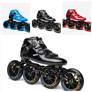 Shoes Carbon-Fiber-Roller Speed-Skates Cityrun Inline Indoor-Track-Race Professional