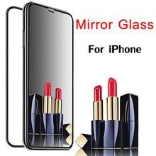 Зеркальное стекло для Apple Iphone XS XR X S Max 8Plus 7Plus 6Plus 8 7 6 S 6 защита экрана Ip Iph Xsmax Plus Sx Sr 10s закаленное 9H