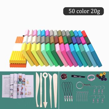 24 50 kolory glina polimerowa DIY miękkie odlewnictwo Craft pieczenie w piekarniku glina bloki Montessori gliny Wott zabawki urodziny prezent dla dzieci AduIt tanie i dobre opinie CN (pochodzenie) 4-6y 7-12y 12 + y Montessori Early Education Toys 24 kolory None Kolorowa plastelina Unisex Puzzle Toys