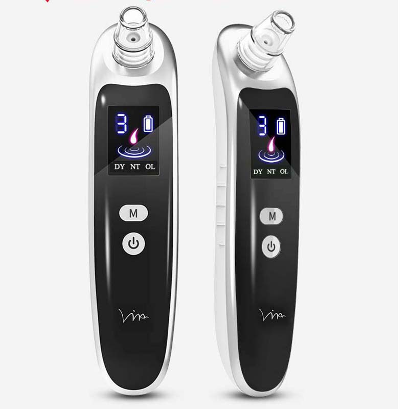 Blackhead Remover Pore Cleanser Vacuum Pore Cleaner Pore Vacuum Machine Vacuum Cleaner Black Dot Facial Skin Care Tool