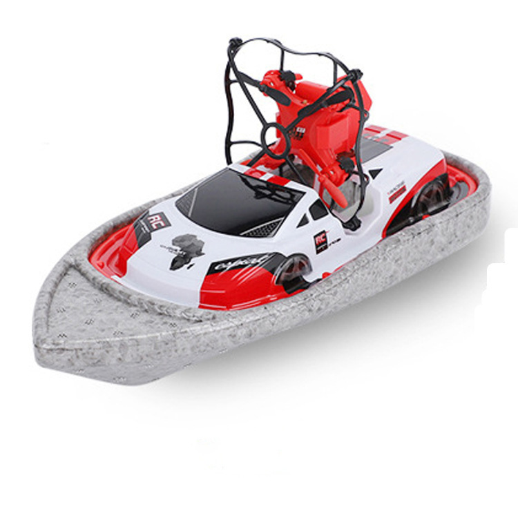 Sea And Air Three-in-One Unmanned Aerial Vehicle Hovercraft Aircraft Remote Control Car Toy