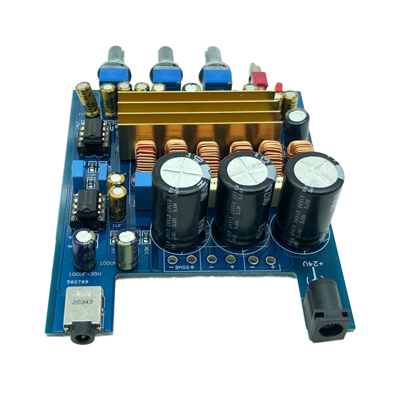 2.1 High Power Digital Power Amplifier Board TPA3116 100W+2X50W Class D Amplifier Board