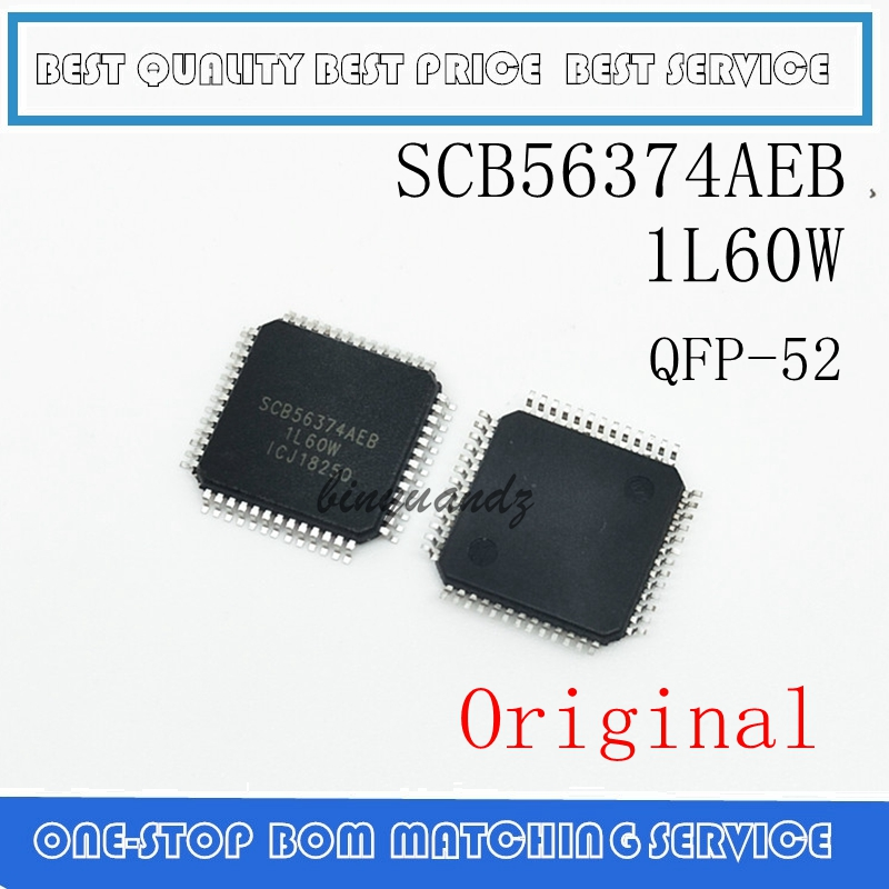 1PCS SCB56374AEB SCB56374 1L60W Auto For Audio CPU QFP-52