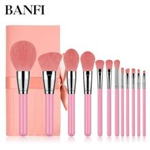 12PCs Makeup Brushes Set Professional Makeup Brush Kit Tools Women Beau