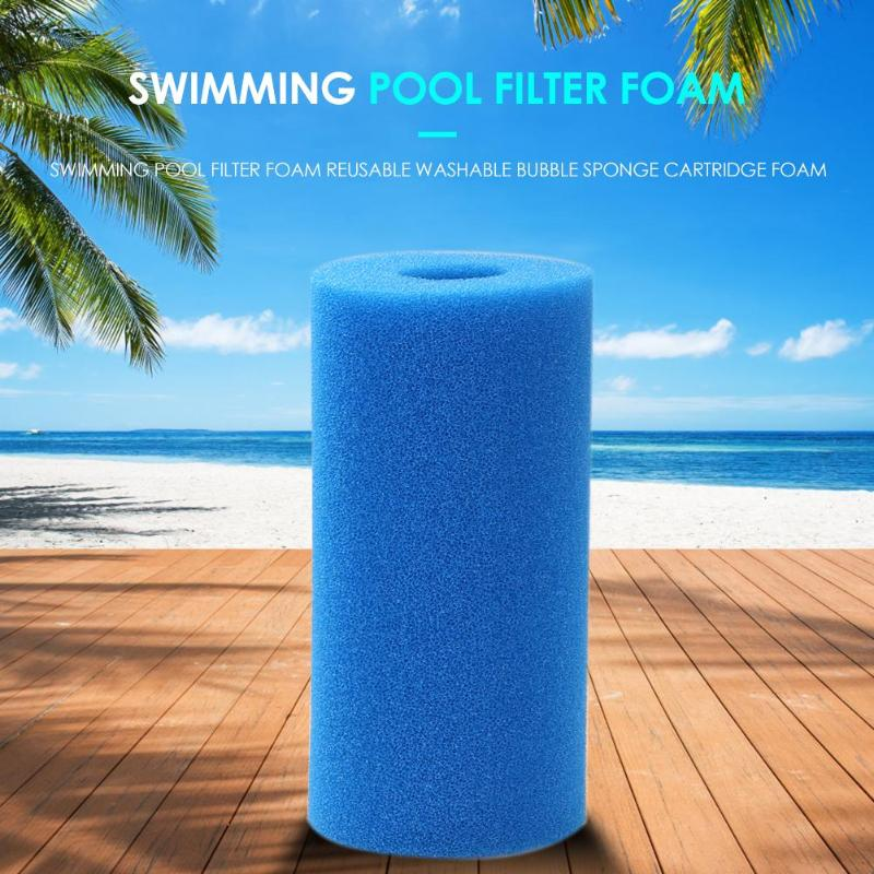 Foam Filter Swimming Pool Filter Foam Reusable Washable Bubble Sponge Cartridge Foam Cleaning Swimming Pool Accessories in Pool Accessories from Sports Entertainment