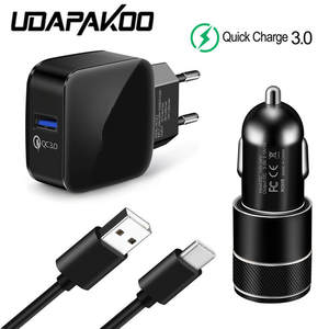 Car-Charger Adapter C-Cable Oneplus Usb-Type S9 Mi Xiaomi Samsung Galaxy for S8 A8S 6T