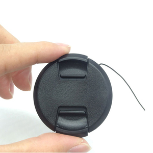 Image 5 - 30pcs/lot High quality 40.5 49 52 55 58 62 67 72 77 82mm center pinch Snap on cap cover for SONY camera Lens