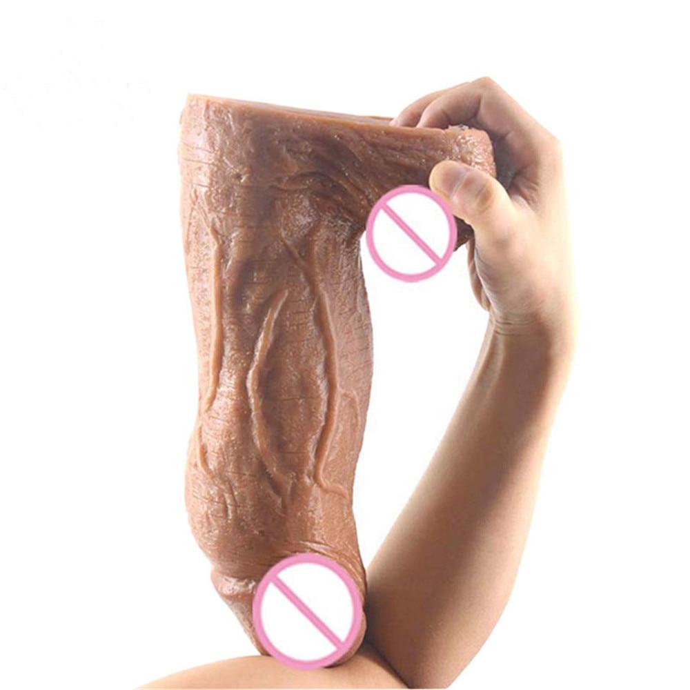 Gran-Consolador-grueso-pene-enorme-Artificial-Godemichets-realista-ntimo-productos-para-las-mujeres-juguetes-Sexy-consoladores1
