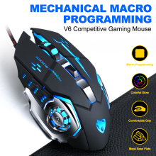NEO STAR Professional Wired Gaming Mouse Mice 6 Bu