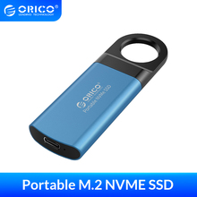 ORICO Mini Externe SSD 1TB 128GB 256GB 512GB M2 NVME Festplatte Mobile Tragbare SSD USB C 3,1 10Gbps Externe Solid State Drive