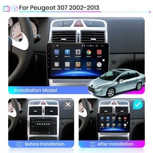 Image 3 - Junsun lecteur multimédia vidéo pour PEUGEOT 307 sw, 307, 2002, 2013, avec DSP, avec navigation GPS, RDS, 2 din, sous Android 10, 4 go + 64 go, V1