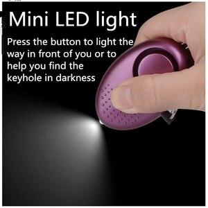 Image 3 - Personal Alarm With LED Light Alert Scream 130DB Self Defense Safety Attack Emergency Alarms For Women Kids Elderly Self  Alarm