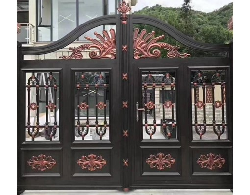 House Modern Iron Pipe Fancy Main Gate Colors Grill Design For Home  For India