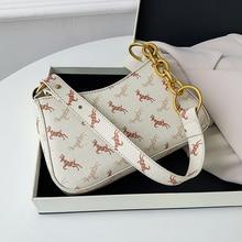 Armpit-Bag Shoulder-Bag Handbag-Width Chain Korean-Design Fashion 21cm-Height 6cm Elegant