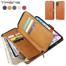 Leather Case For Samsung Galaxy A52 A72 A32 A12 A02S A42 A21S A51 A71 A31 A41 A81 A91 A10 A20 A30 A40 A50 S Zipper Wallet Cover