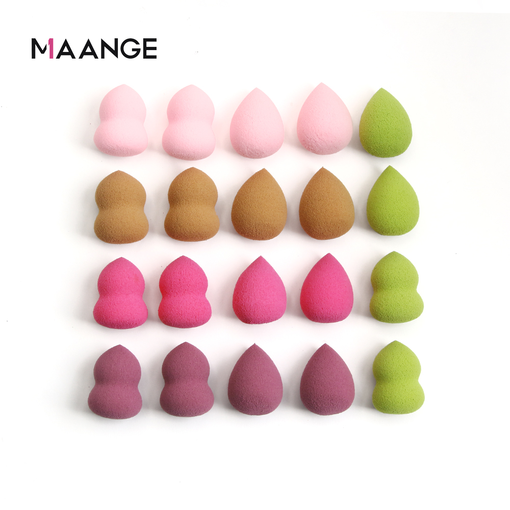 10/20pcs Cosmetic Puff Mini Powder Puff Soft Makeup Foundation Sponge Beauty Make Up Tool Accessories Water-drop Shape Wholesale