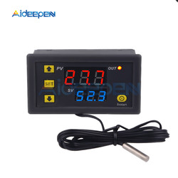 W3230 Mini Digital Temperature Controller 12V 24V 220V Thermostat Regulator Heating Cooling Control Thermoregulator With Sensor