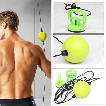 Suspended Sucker Type Fitness Boxing Speed Ball Neutral PU Rubber Reflection Boxing Ball Improve Agility Speed Stress Reliever banana style pp rubber stress reliever keychain yellow