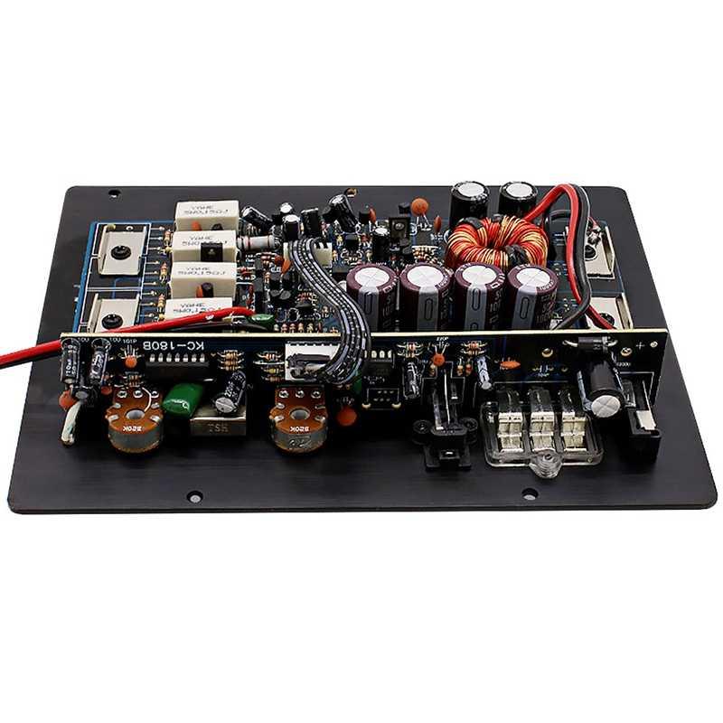 1200W di Potenza Audio Per Auto Amplificatore Subwoofer Scheda di Amplificatore di Potenza Audio Amplificatore Fai Da Te Bordo di Auto Lettore Kl-180