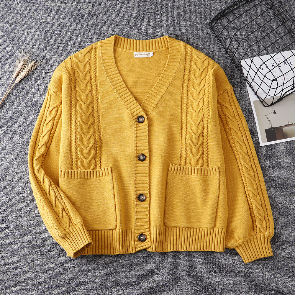 2020 High Quality Japanese Style Students School Uniform Girl Women Sweater Long Sleeve Jk School Uniforms Cardigans 11 Colors