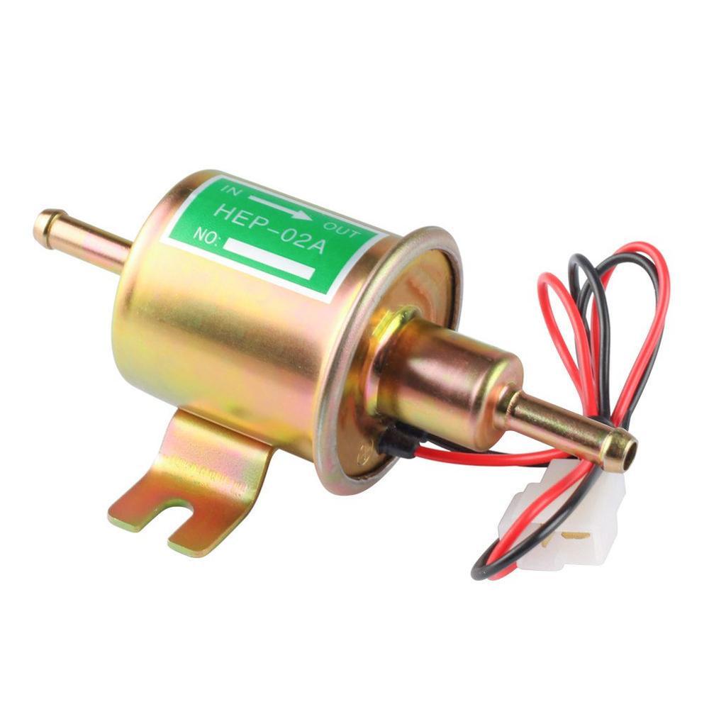 HEP-02A 새로운 가스 디젤 연료 펌프 인라인 저압 전기 연료 펌프 12V 24V 전자 펌프 전자 디젤 펌프