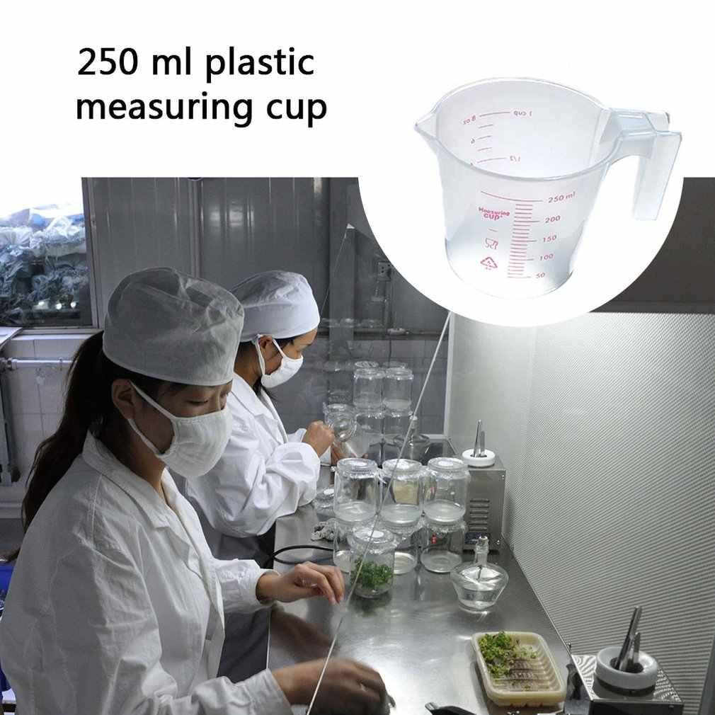 Hộ Gia Đình Liều Dùng 250 Ml Nhựa Ly Đo Lường Chất Lỏng Đo 1Cup Cốc Có Quy Mô DIY Nướng Dụng Cụ