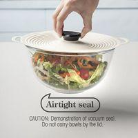 Tapas elásticas de silicona reutilizables, tapa Universal de silicona para cuenco, olla, sartén, comida fresca
