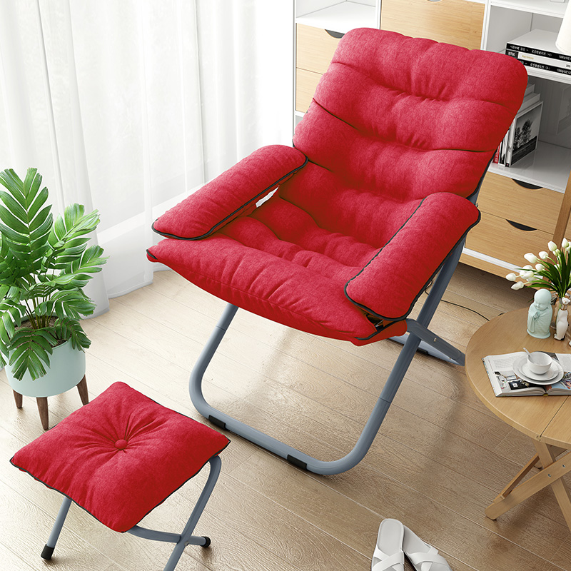 Folding chair lazy couch single tatami removable and washable computer sofa  living room recliner dormitory