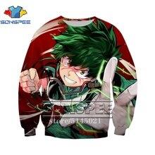 Sudadera con Capucha para Hombre Anime My Hero Academia Dabi Impreso Manga Larga Cuello Redondo Streetwear Harajuku Hip Hop Pullover Tops De Oto/ño De Gran Tama/ño