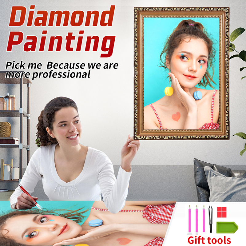 Custom diamond painting, DIY, custom photos, and gifts