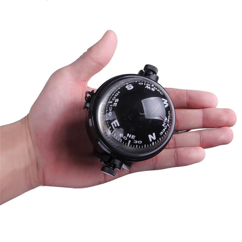 Car Travel Marine Compass Magnetic For Boat Sea Marine Light With Compass Quality Pivoting LED Adjustable High A9R1