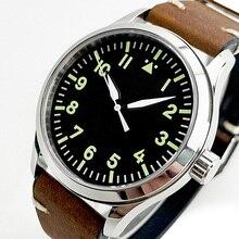 Automatic mechanical watch men military pilot Miyota 8215 or