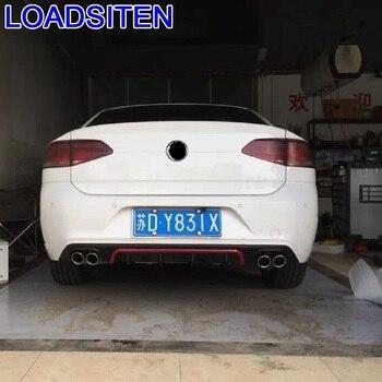 Geändert Außen Dekorative Styling Zubehör Leisten Tuning Hinten Diffusor Front Lip Auto Stoßstangen FÜR Volkswagen Lamando