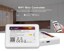 Mi Light DC 5V WiFi iBox LED Controller Smart Night light 2.4G Wireless WiFi rgb Controller For Mi Light LED Bulb Lamp Lighting 2 4g 4 groups remote control mi light led wifi controller 4x led rgb controller