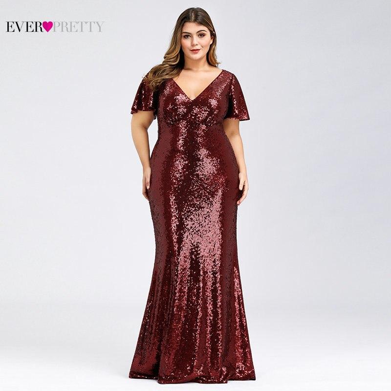 Plus size rosa ouro vestidos de noite