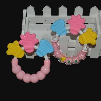 Grzechotka dla dzieci gryzak dla niemowląt grzechotka dla niemowląt gryzak dla niemowląt gryzak dla niemowląt zabawki szkoleniowe tanie i dobre opinie Pojedyncze załadowany Silikon Teether CN (pochodzenie) Lateksu