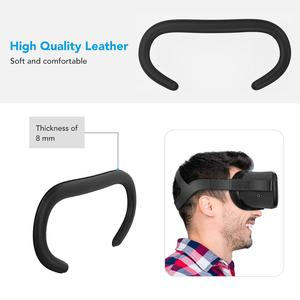 Image 3 - KIWI DESIGN replaced face Cover Set for Oculus Quest,  5in1 Oculus Quest accesses facial interface Bracket with lens cover