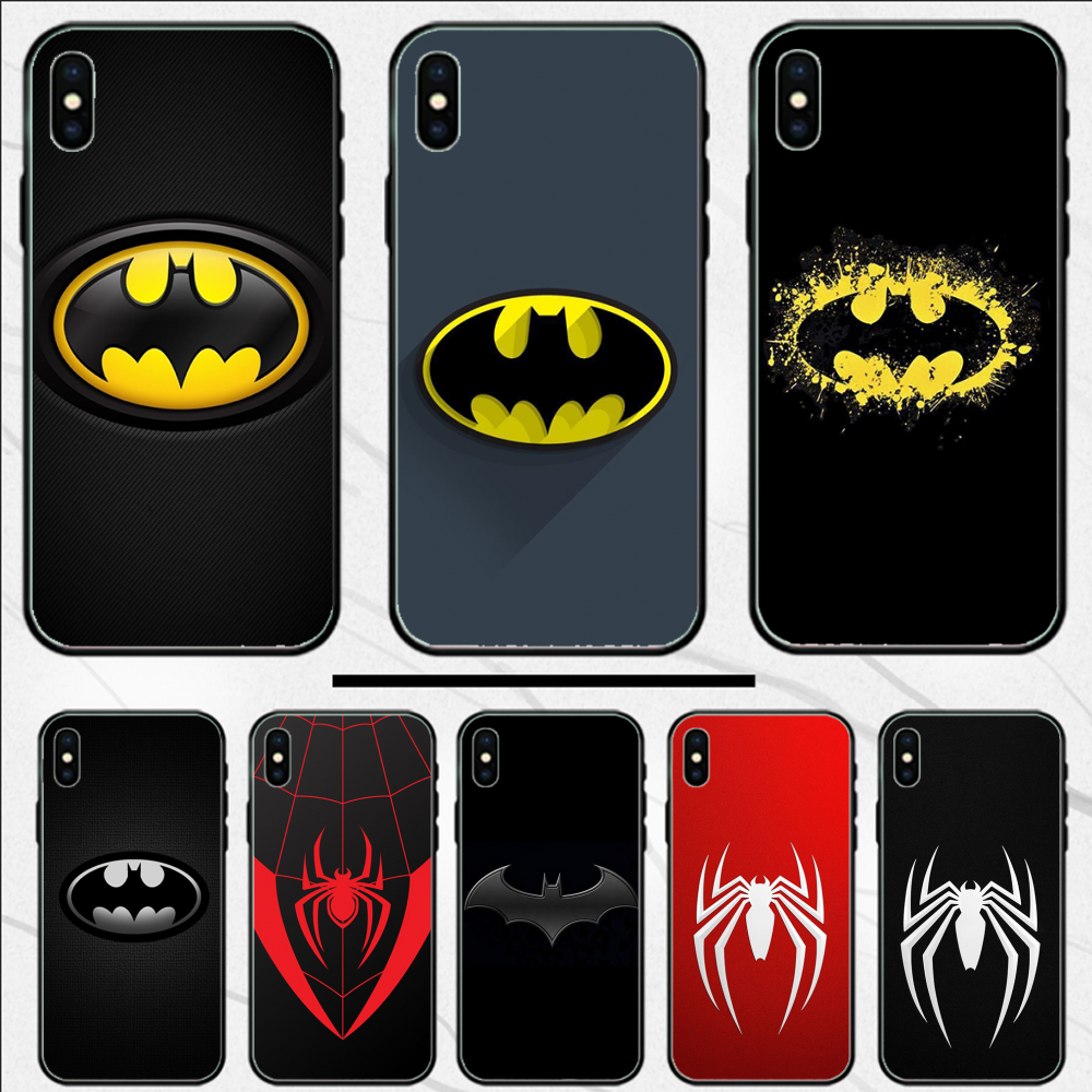 Marvel Avenger Batman Spiderman Case Coque Shell Phone Case For iphone 4 4S 5 5S SE