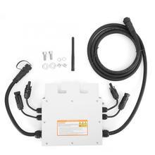 цена на 600W AC 120V 230V Micro Solar Inverter IP65 Waterproof Grid Inverter