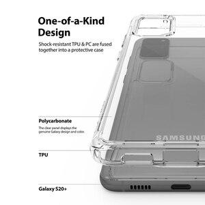 Image 3 - Ringke Fusion for Galaxy S20 Plus 실리콘 케이스 유연한 Tpu 및 투명 하드 PC 뒷면 커버 Hybrid for Galaxy S20 +