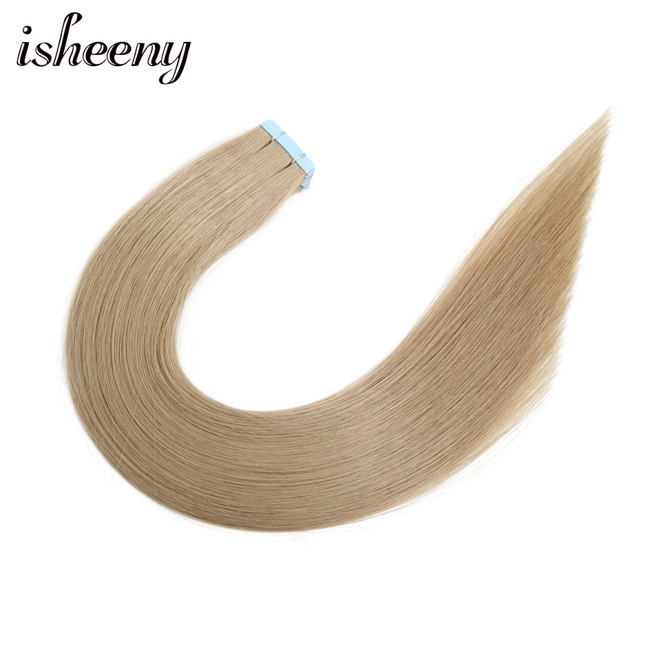Isheeny Remy Natural Straight European Hair 12
