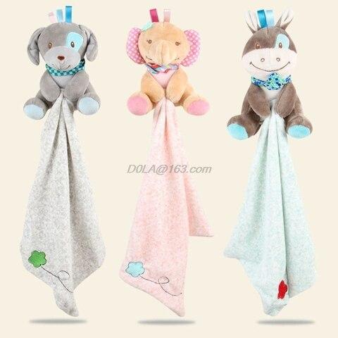 recem nascido apaziguar toalha cobertor consolador criancas apaziguar sono acalmar brinquedos de pelucia animal bonecas
