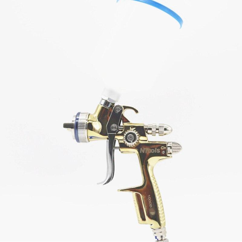 Профессиональный инструмент ручной пистолет-распылитель светильник 1000B маленький пистолет-распылитель с низким Давление атомизация Высок...