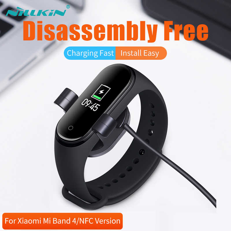 Xiaomi Mi Band 4 สายชาร์จ NILLKIN Xiaomi Mi Band 4 Global USB Charger สำหรับ Xiaomi Smart Band 4 Miband 4