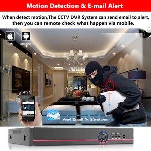 Image 5 - New スーパー 8CH 5MP AHD DVR デジタル NVR ビデオレコーダー Cctv セキュリティカメラ IP Onvif ネットワーク HD 5.0MP 警報多機能