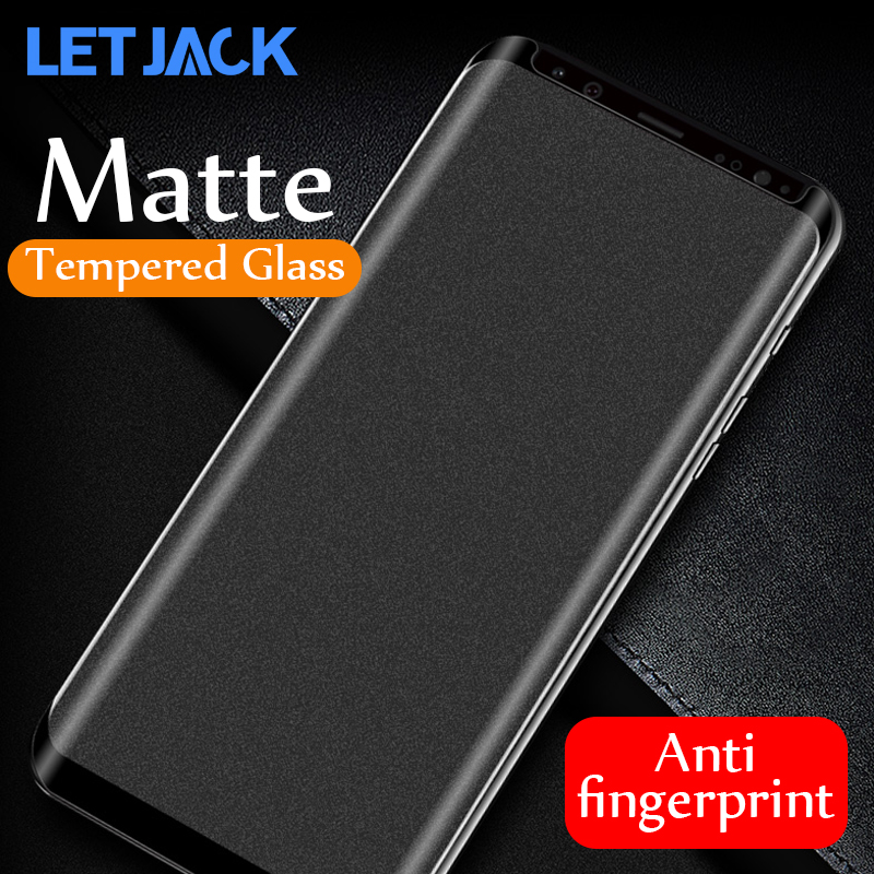 Matte Tempered Glass For Samsung Galaxy Note 10 9 8 Screen Protector For Samsung S8 S9 Plus Anti-fingerprint Glass S7 Edge Film