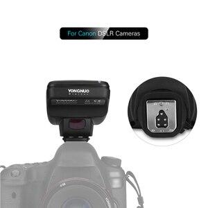 Image 4 - Yongnuo transmissor sem fio do gatilho flash da câmera profissional 2.4g para câmera canon dslr yn862/yn968/yn200/yn560 speedlite