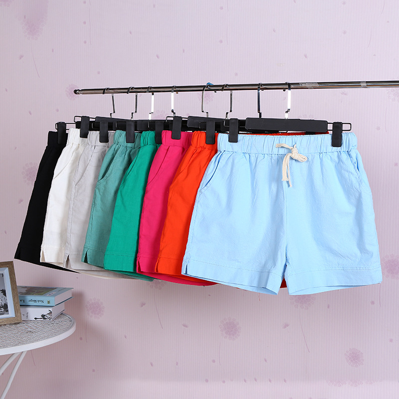 2019 New Ladies Summer Casual Loose Shorts Specials