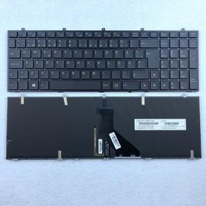 Swiss European Sweden Italian Backlit Keyboard For Clevo W350 W670 W370ET W655 W350SK W370ST W350ST W350ET W650 W670SC Series(China)